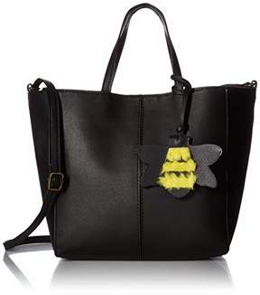 T-Shirt & Jeans Tote with Plush Bee Dangle