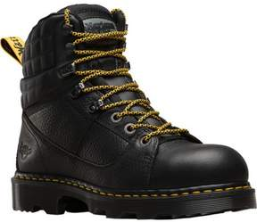Dr. Martens Unisex Camber Alloy Toe 8 Tie Boot