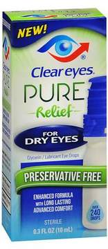 Clear eyes Pure Relief For Dry Eyes Drops
