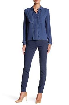 Atelier Luxe Zipper Pocket Narrow Leg Pants