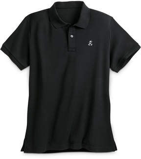 Disney Mickey Mouse Pima Cotton Polo Shirt for Men - Black