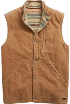 Faherty Mock Neck Reversible Vest - Men's