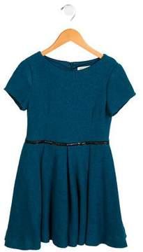 Helena Girls' Tweed A-Line Dress