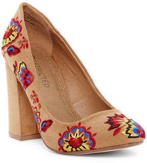 Restricted Big Island Embroidered Pump