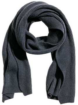 H&M Ribbed Cashmere Scarf