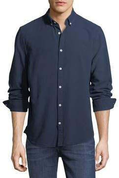 Joe's Jeans Men's Classic Solid-Color Woven Sport Shirt