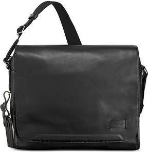 Tumi Men's Leather Davenport Messenger Bag