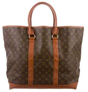 Louis Vuitton Vintage Monogram Sac Weekend Tote