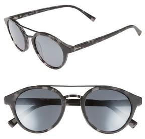 Ted Baker Men's 51Mm Polarized Round Sunglasses - Black