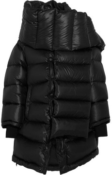Balenciaga Outerspace Oversized Quilted Shell Jacket - Black