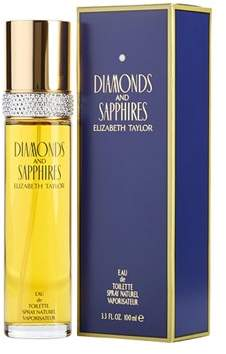 Elizabeth Taylor Diamonds & Sapphires By For Women.