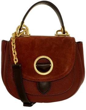 Michael Kors Women's Small Isadore Messenger Leather Bag - Brick - BRICK - STYLE