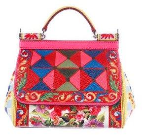 Dolce & Gabbana St. Maioliche Mini Miss Sicily Bag - PINK - STYLE