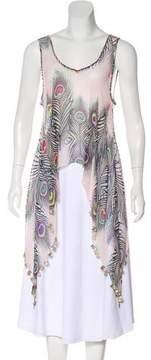 Matthew Williamson Silk Embellished Top