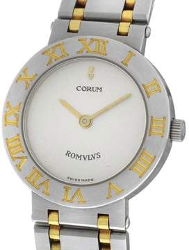 Corum Romulus 24.103.21 V048 Stainless Steel & Yellow Gold 24mm Womens Watch