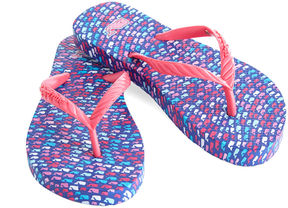 Vineyard Vines Girls School Of Whales Flip Flops