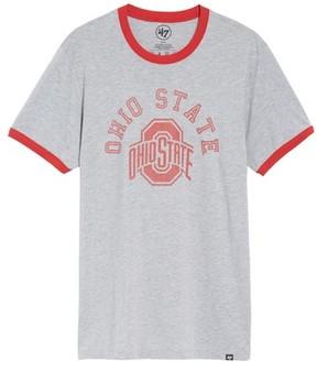 '47 Men's Ohio State Buckeyes Ringer T-Shirt