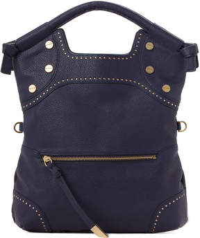 Foley + Corinna Blue Stargazer Studded Satchel