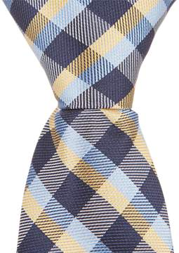 Class Club Gold Label 14 Box Plaid Tie