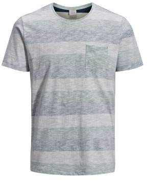Jack and Jones Striped Slim-Fit T-Shirt