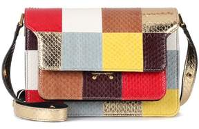 Marni Trunk snakeskin shoulder bag