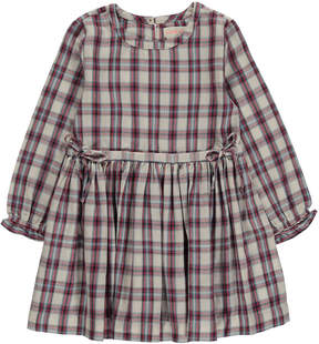 Simple Peugeot Checked Dress