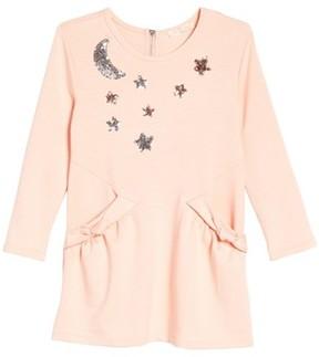Truly Me Toddler Girl's Celestial Knit Dress