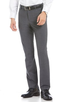 Murano Performance Alex Modern Slim-Fit Flat-Front Pants