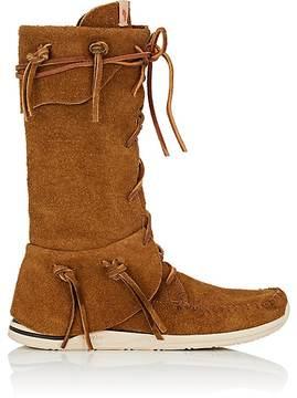 Visvim Men's FBT Trapper Hi-Folk Suede Boots
