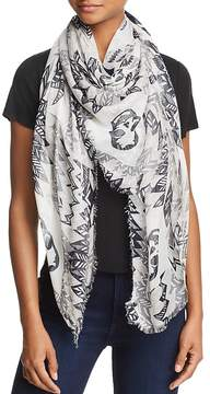 Zadig & Voltaire Kerry Butterfly Scarf