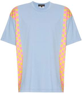 Comme des Garcons Side Panelled Checkered T-Shirt