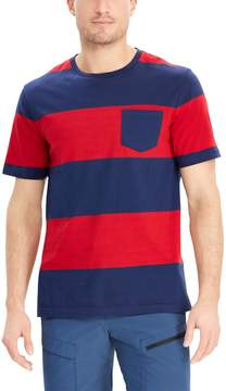 Chaps Men's Classic-Fit Rugby-Striped Tee
