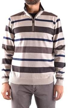 Paul & Shark Men's Beige/brown Wool Sweater.