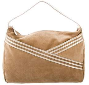 Lauren Merkin Suede Shoulder Bag