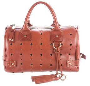 Marc Jacobs Laser-Cut Brigitte Bag - BROWN - STYLE