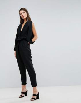 C/Meo Collective Collective Solitary Tie Up Jumpsuit