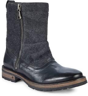 John Varvatos Men's Tahoe Side Zip Boots