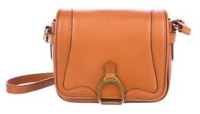 Ralph Lauren Leather Saddle Bag
