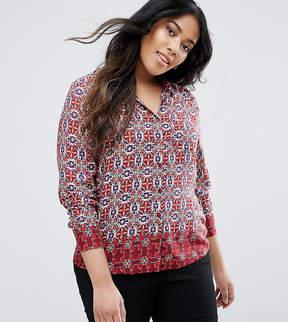 Brave Soul Plus Border Shirt