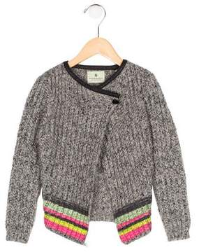 Scotch R'Belle Girls' Mohair-Blend Printed Cardigan