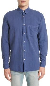 Our Legacy Men's Generation Linen & Cotton Sport Shirt