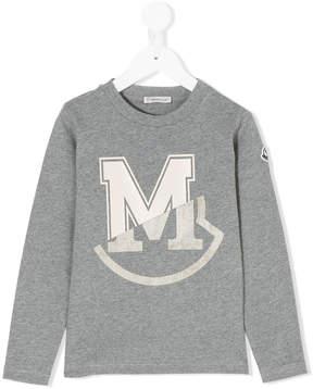 Moncler logo print sweatshirt