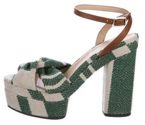 Castaner Woven Platform Sandals