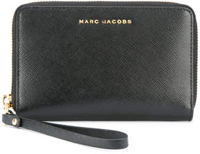 Marc Jacobs two-tone wallet - BLACK - STYLE