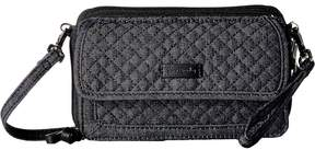 Vera Bradley Iconic RFID All-In-One Crossbody Cross Body Handbags - DENIM NAVY - STYLE