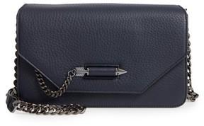 Mackage Cortney Nappa Leather Shoulder/crossbody Bag - Blue