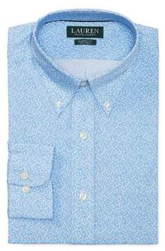 Lauren Ralph Lauren Floral Cotton Dress Shirt