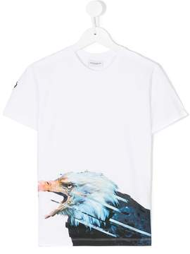 Marcelo Burlon County of Milan Kids Eagle T-shirt
