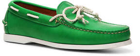 Ralph Lauren Men's Thad Leather Boat Shoe