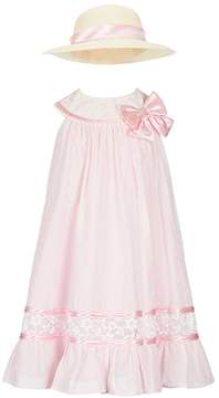 Bonnie Jean Litttle Girls 2T-6X Clip-Dot Trapeze Dress